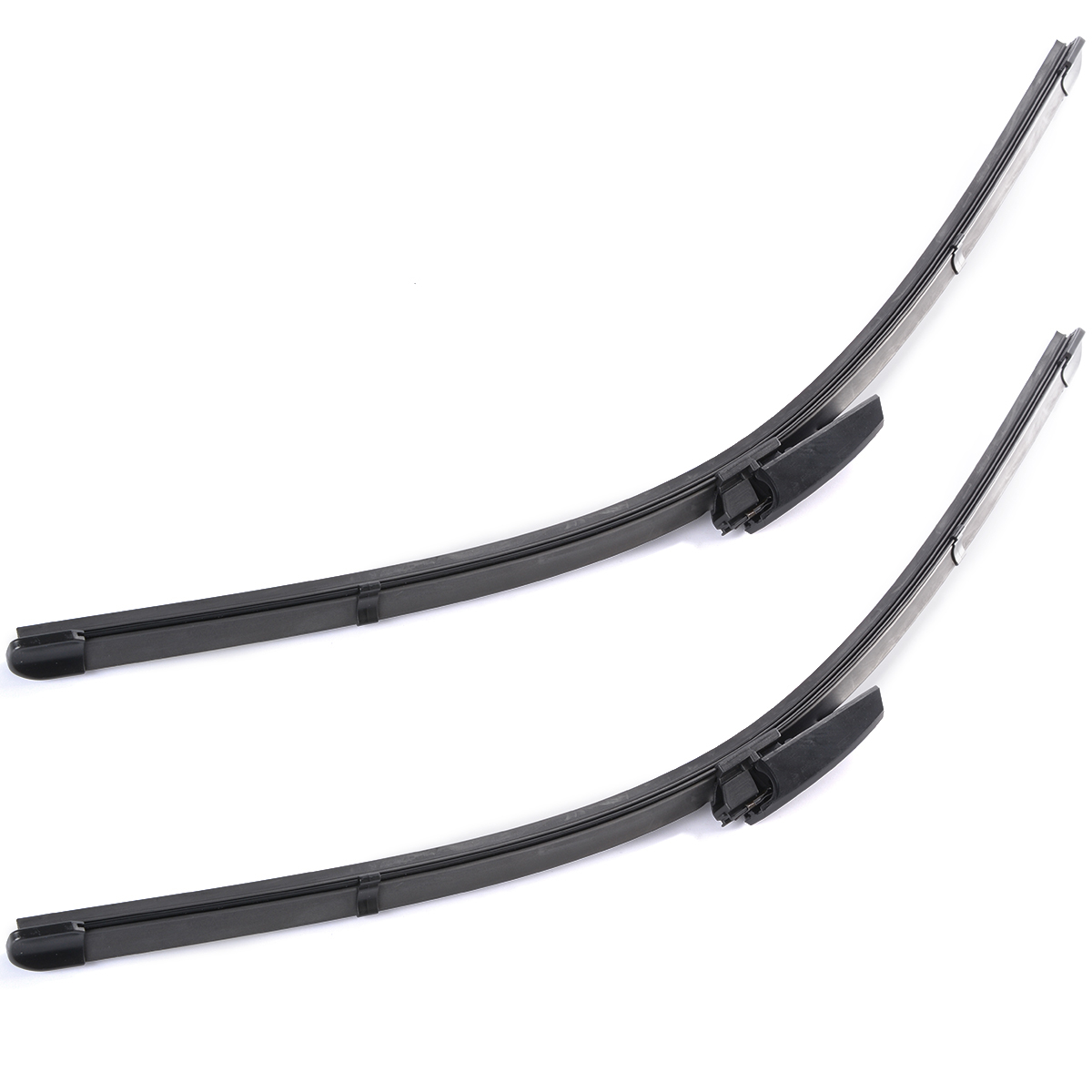 "2Pcs 22"" Car Accessories Windshield Wiper Blade Bracketless Soft Rubber Arm Blade for Audi A4 B6/B7 S4 RS4 A6 MA176(China (Mainland))"