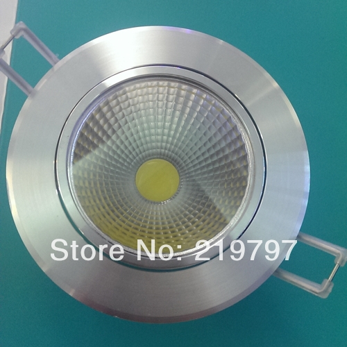 4.3inch 10W COB led downlight reflective cover TH59 for kitchen bedroom indoor lighting + 24pc + Discount(China (Mainland))