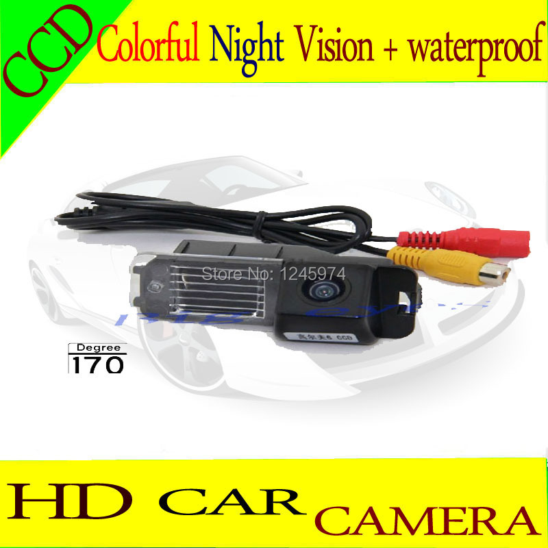 HD Car Rear View Parking Reversing back up rearview Camera 170 Degree Weatherproof For Volkswagen 2010 Golf 6/Scirocco/ CC(China (Mainland))