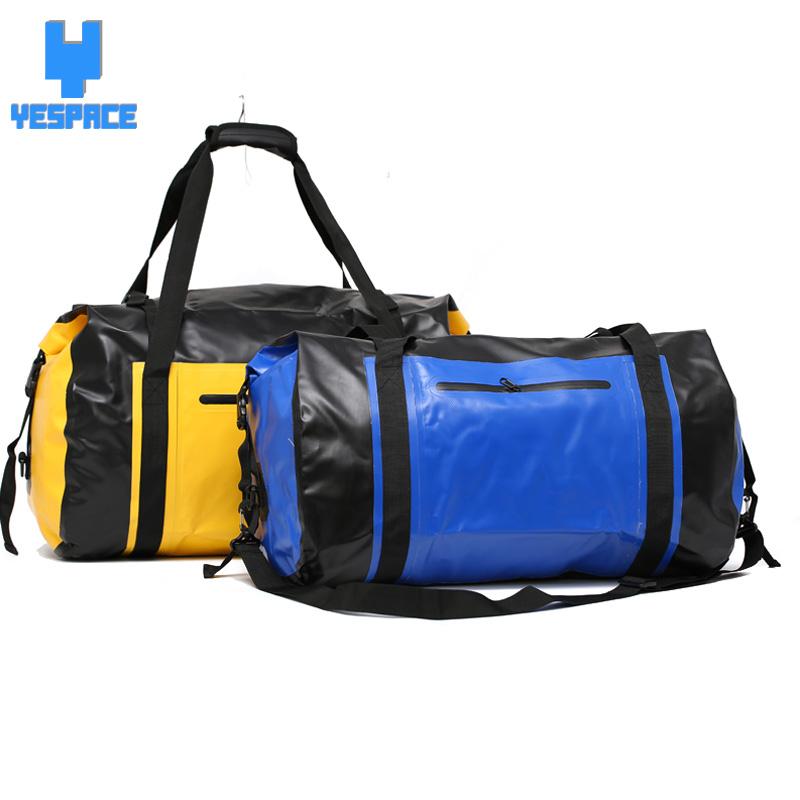 60L big capacity gym bag waterproof pvc sports bag for gym fitness bag men mochila bolsa de deporte para las mujeres de fitness(China (Mainland))