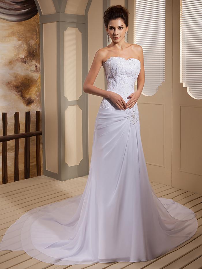 Popular wedding dresses older brides buy cheap wedding for Brides dress for wedding reception