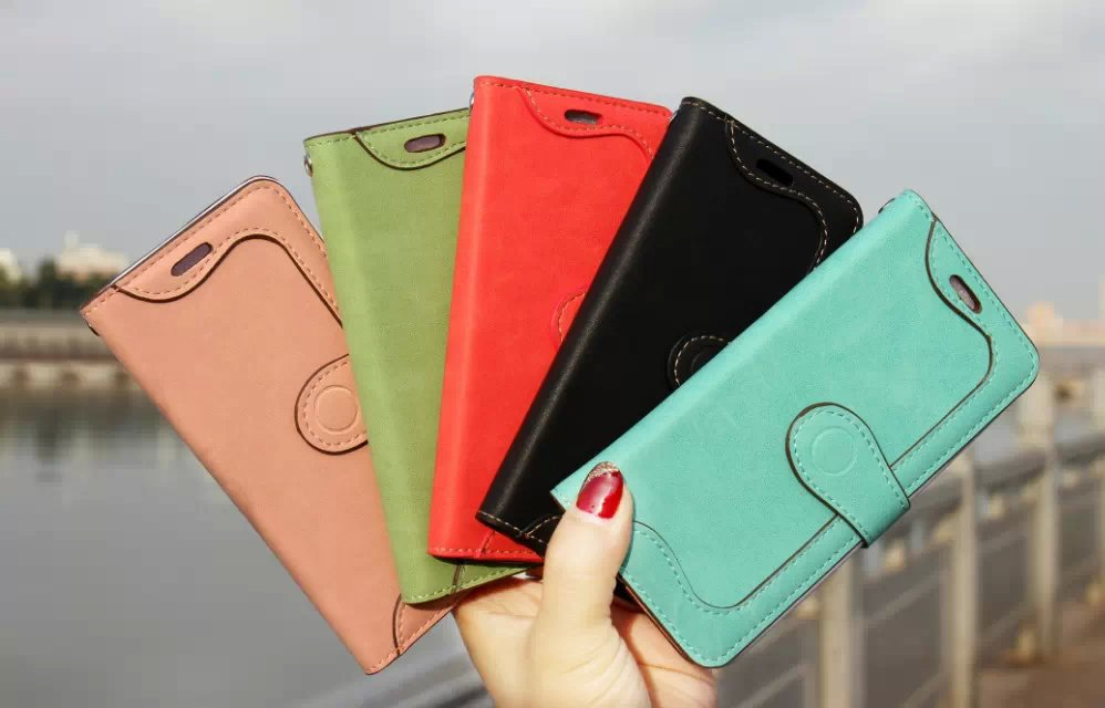 10ps/lot Free shipping Hot Selling Multifunction Pouch Mobile Phone Bags For iphone 6 Leather Wallet Case 4.7 inch(China (Mainland))