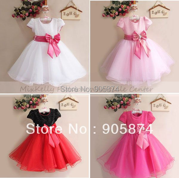 2014 Fashion children party dress,lace tutu ballet princess dress,kids clothing,baby girls Wedding Bridesmaid Dresses 0-4 year - MixKelly Children Clothes Center store