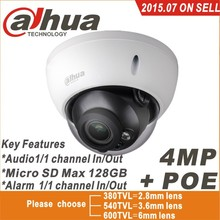 Dahua mp IPC-HDBW4421R-AS IP network camera cámara DH-IPC-HDBW4421R-AS apoyo POE / Micro SD de almacenamiento / Audio 1/1 canal In / Out(China (Mainland))