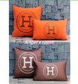 Free Shipping H pillow embroidered Soft plush H cushion sofa cushion cover Home Furnishing car pillow
