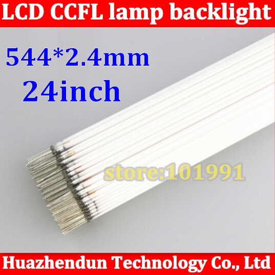 """15pcs Hot Sale CCFL 544mm * 2.4mm 24"""" wide screen CCFL tube Cold cathode fluorescent lamps LCD monitor backlight tube(China (Mainland))"""
