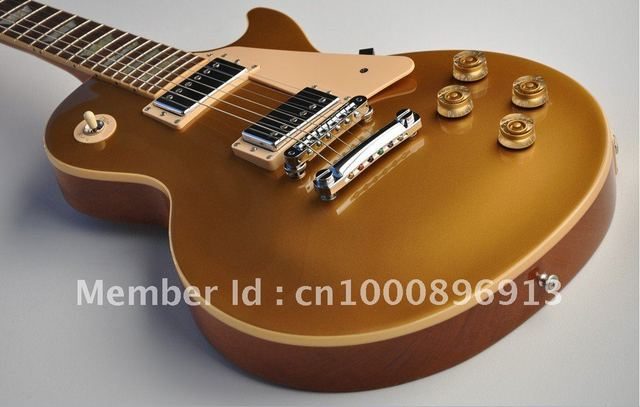 best Musical Instruments Traditional Gold top FANTASTIC Electric Guitar