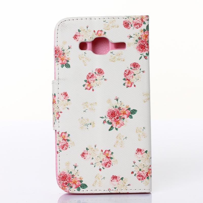Fundas Coque J3 Case Painted Patterns Leather wallet Flip With Stand Case Cover Coque For Samsung Galaxy J3 2016 Housing Cover