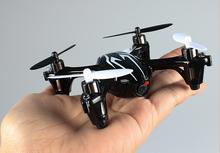 Volar helicóptero de la cámara X6 H 107c Controle Remoto helicóptero Mini Quadricoptero Drone con la luz intermitente