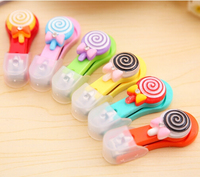 Free Shipping Hot Selling Cute Cartoon Lollipop Nail Scissors Nail Clippers Manicure Care Tool