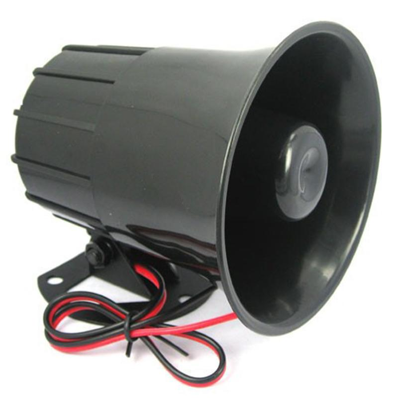 DC 12V Wired Loud Alarm Siren Horn Outdoor with Bracket for Home Security Protection System alarm systems security home(China (Mainland))