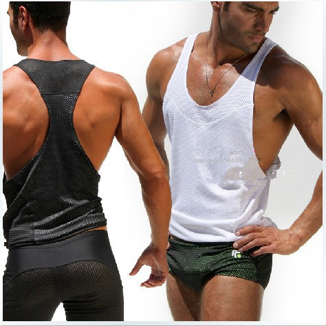 mens vest tank top for man waistcoat sport v neck slim tank tops summer outdoors. Black Bedroom Furniture Sets. Home Design Ideas