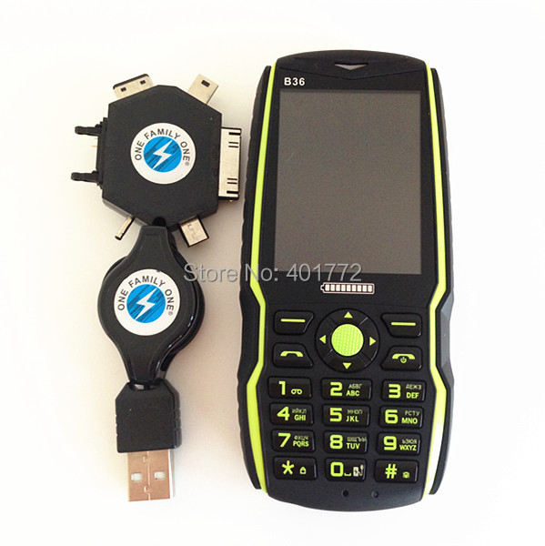 5000mAh Big Battery Original ADMET B10 Power Bank Phone Loud Speaker Outside FM Torch Dual Sim Long Standby Russian Keyboard