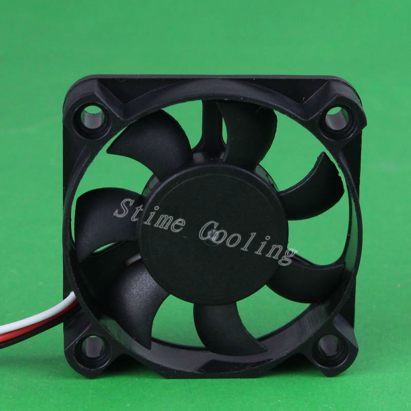 10pcs GDT New DC 5010 50*50*10 12V 3Pin 50mm 5cm Industrial Cooling Fan(China (Mainland))