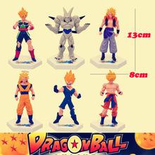 Dragon Ball Z 6pcs/lot 13cm 54th Anime Goku Action Figure Model Toys Dolls Collection Children Toy Free Shipping ADB031