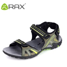 RAX spring summer men sandals shoes lightweight breathable wading upstream shoes fashion comfortable outdoor shoes B923(China (Mainland))
