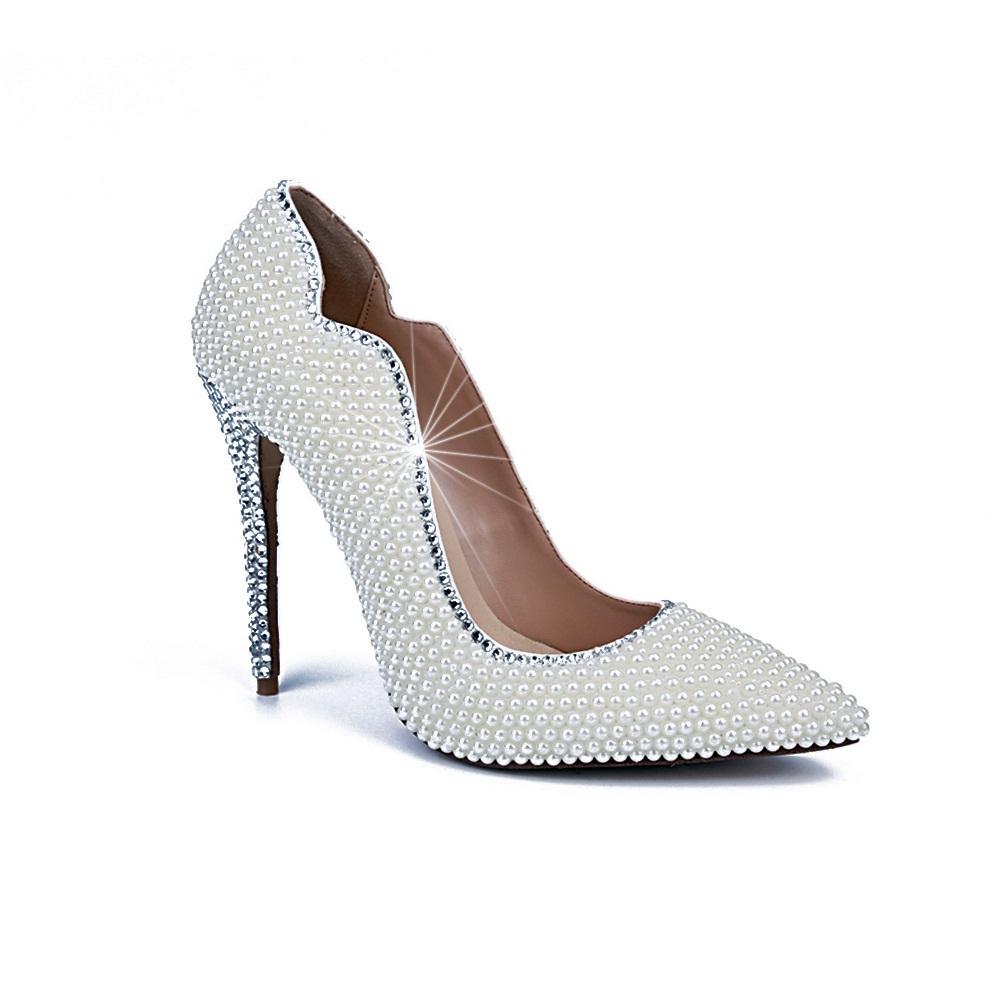 2015 free shipping wedding high heels shoes beautiful