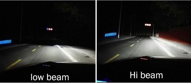 Купить 2X H7 светодиодные фары автомобиля H4 H11/H8 H9 H1 H3 hb3 9005 hb4 9006 9004/9007 880 свет лампы авто противотуманные фары 72 Вт Автомобили фар