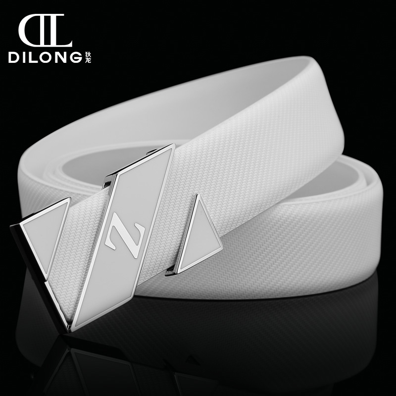 New Personality Belts Luxury Men Alloy White Belt Real Leather Military Belt Cinto Masculino designer belts Cinturones Hombre(China (Mainland))