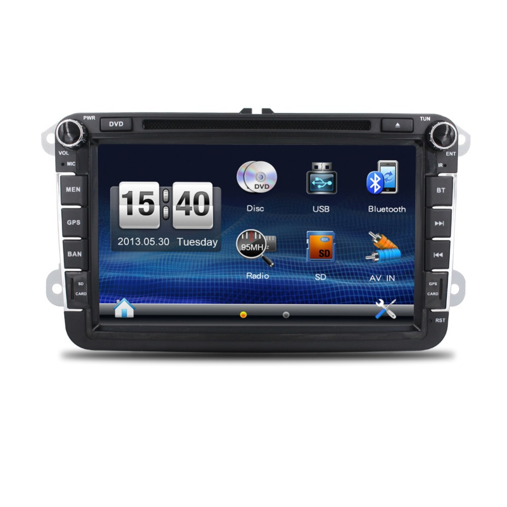 buy new 2din car dvd gps player for vw golf 5 golf 6 polo passat cc jetta. Black Bedroom Furniture Sets. Home Design Ideas
