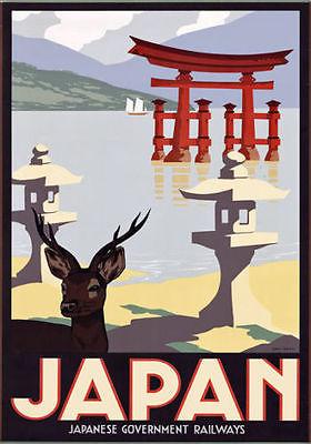 Japan Japanese Railways Travel Tourism Art silk Poster(China (Mainland))