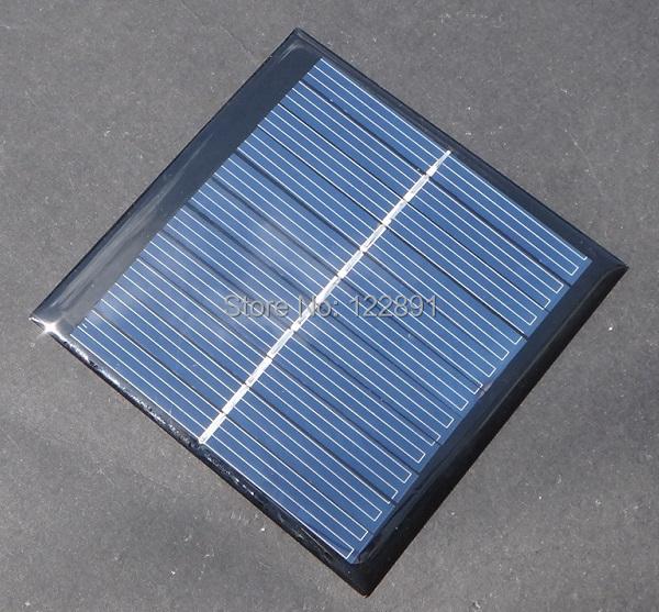 Wholesale! Polycrystalline Solar Cell 1W 5V Solar Panel Solar Module Laminate Solar Cells DIY Charger 20pcs/lot Free Shipping