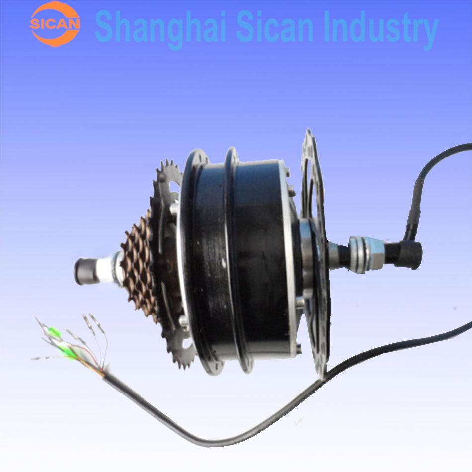 New 24v 200w brushless hub motor for rear wheel powerful for Most powerful brushless motor