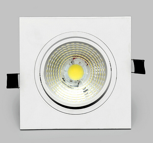 Brightest Recessed Lighting Bulbs : Super bright dimmable led downlight cob ceiling spot light