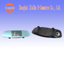 Double lens 5 inch reversing image 170 degree wide-angle HD 12 million pixels driving recorder