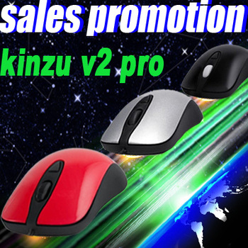 Steelseries Kinzu V2 RED Pro Edition Gaming Mouse, Free & Fast Shipping, Original & Brand NEW In Box,