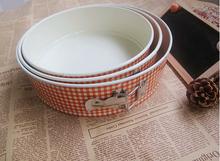 3pcs/set Color printing ceramic belt lock cake mold oven baking mold  Cookie Cake Pastry Baking Cutter Mould Bakeware J0519(China (Mainland))