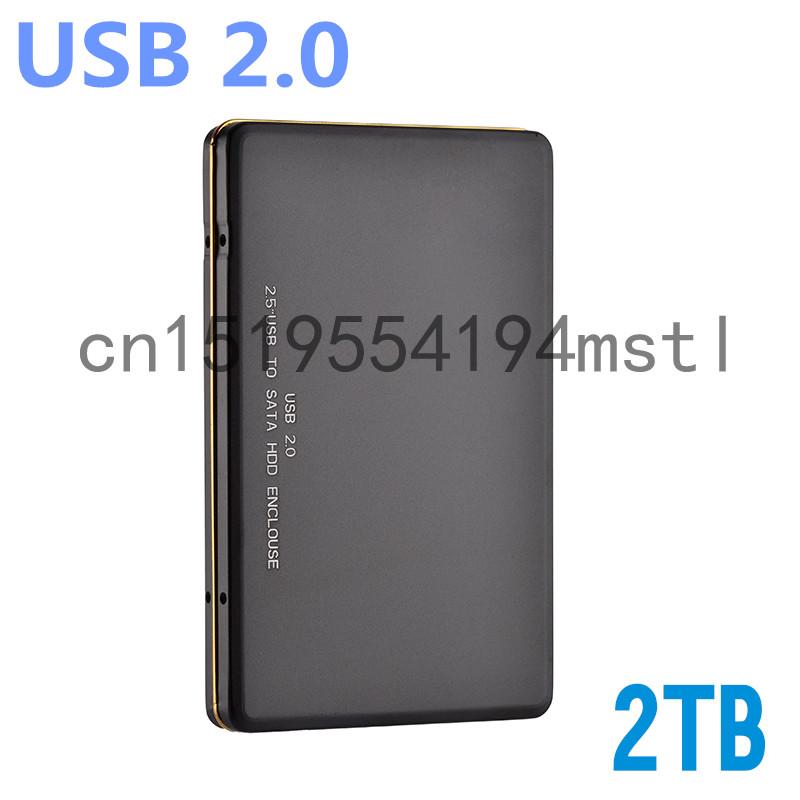 Hot! Original USB2.0 external hard drive Disk 2TB HDD Externo Disco 1TB HDD Disk Storage Devices Free shipping(China (Mainland))