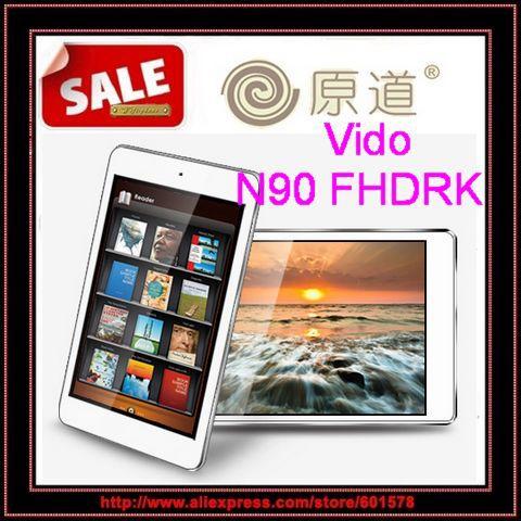 Yuandao Vido N90 FHD N90FHD Quadcore RK3188 9.7inch IPS Retina screen 2048x1536 Android 4.1 2GB RAM 16GB Bluetooth/Jessie(Hong Kong)
