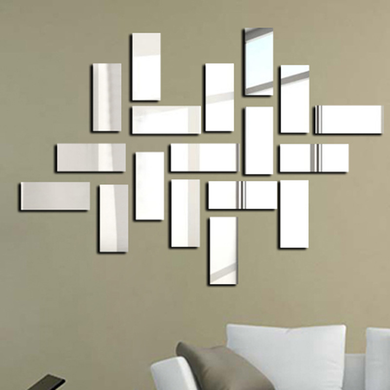 Popular framed wall mirror buy cheap framed wall mirror for Miroir moderne decoration