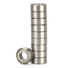 10pcs Set MR83 MR83ZZ 3D Printer Parts Bearing Steel MR83ZZ Ball Bearings 3x8x3mm Deep Groove Ball