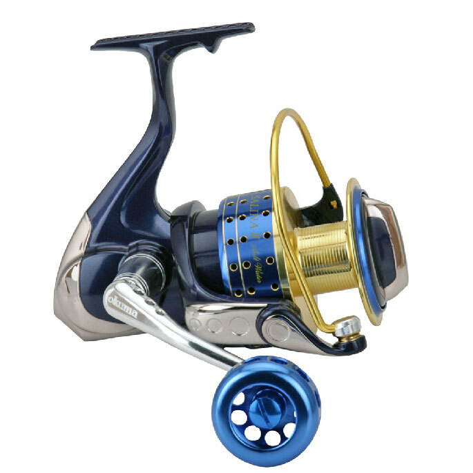 OKUMA Fishing Spinning Reel 9BB(8+1) SALINA II SA3000/4000/5000 series fishing tackle(China (Mainland))