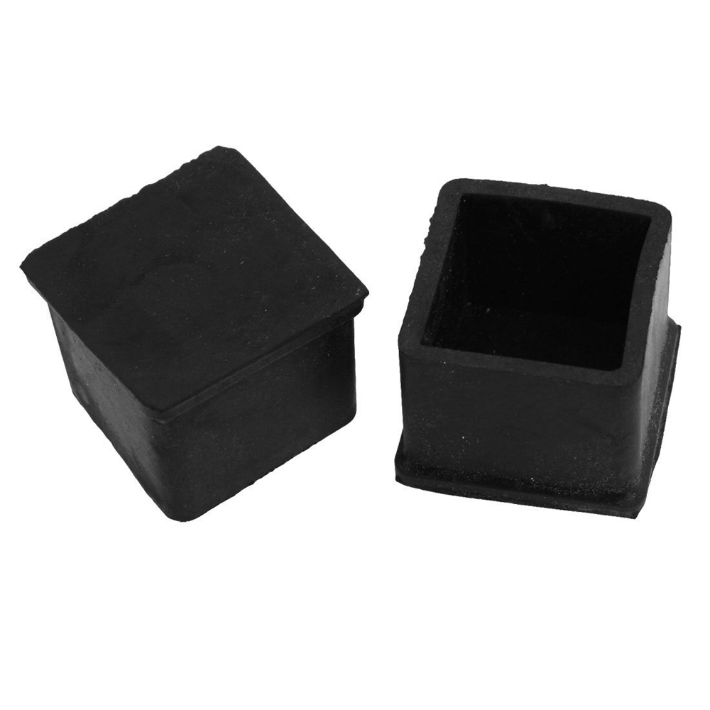 Гаджет  PHFU 10 Pcs Black 30mm x 30mm Furniture Foot Protector Square Rubber Covers case None Мебель