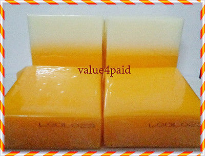 2 BAR SOAP KOJIC ACID PAPAYA 60G + 2 BAR SOAP KOJIC 2 TONE W/GLUTATHIONE 80G Free Shipping(China (Mainland))