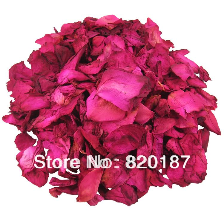 New Arrival 2015 Premium Natural Dry Rose Petals 100g Bubble Bath Petals(China (Mainland))