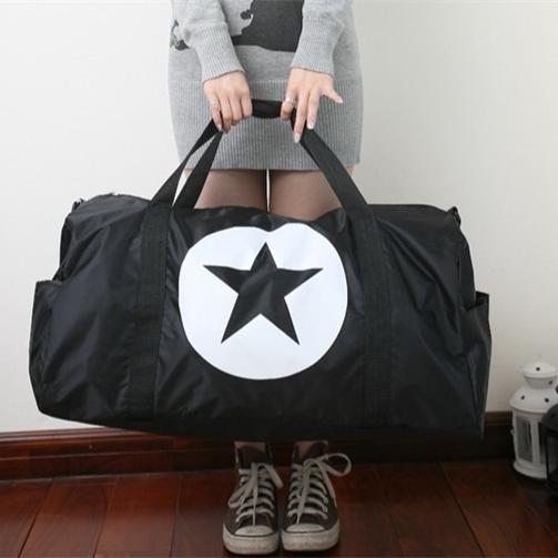Women Shoulder Big Bags men Travel Bag Luggage Handbag light weight diagonal package Cross-Body Bag Large Capacity Boarding tote(China (Mainland))