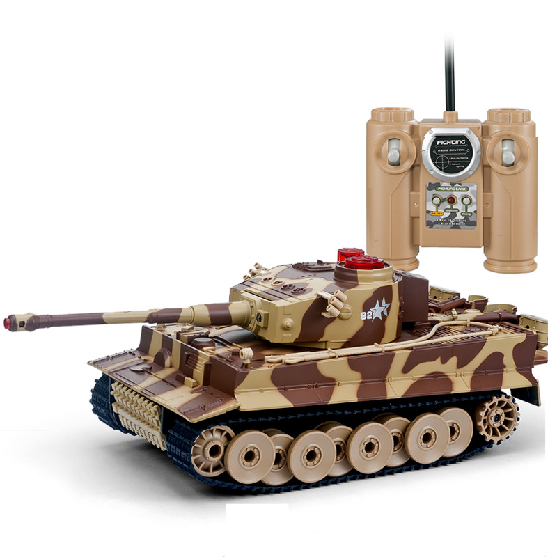 Huanqi 518 RC Infrared Battle Tank Models Automatic shows 3.7v Tank Versus Remote Control Toys Tank For Boy 1pcs/lot(China (Mainland))