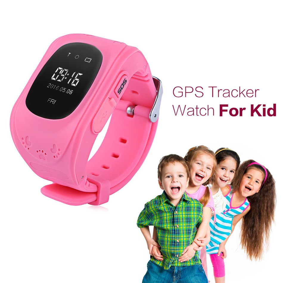 Q50 Smart Children Anti Lost GPS Tracker Baby Watch For Kids SOS GSM Mobile Phone App For IOS & Android Smartwatch Wristband(China (Mainland))