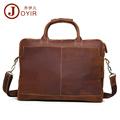 JOYIR New Arrival Genuine leather men bags Leather Men Briefcase Laptop Handbag Messenger Bag men s