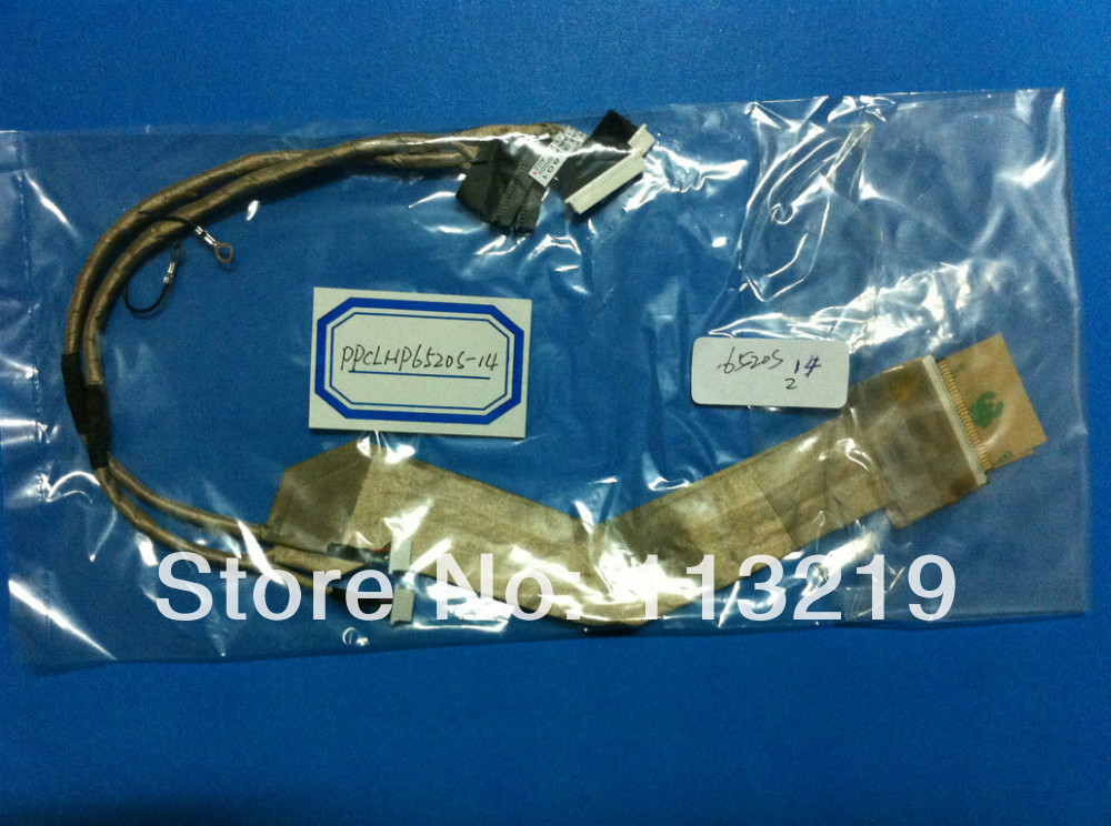 New Laptop Lcd Cable For HP 6520s 6520 540 541 14 INCH P/N:6017b0127801 6017B0132801(China (Mainland))