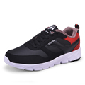 New Men s casual sport shoes men flat Trainers Male Non slip lace up walking shoes