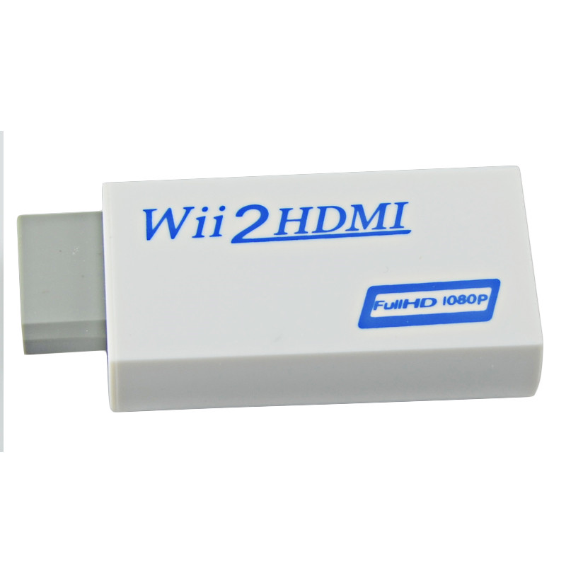 High Quality HSMI To HDMI Upscaling Converter Adapter with 3.5mm Audio Video Output 480p/1080p New(China (Mainland))