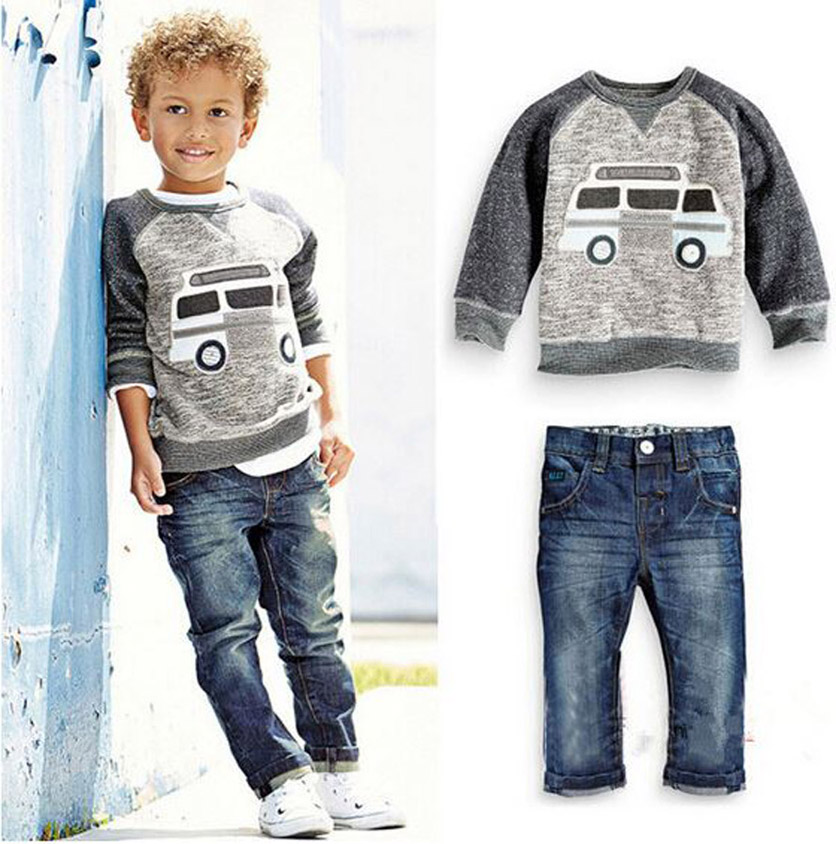 children set boys suit autumn americal style