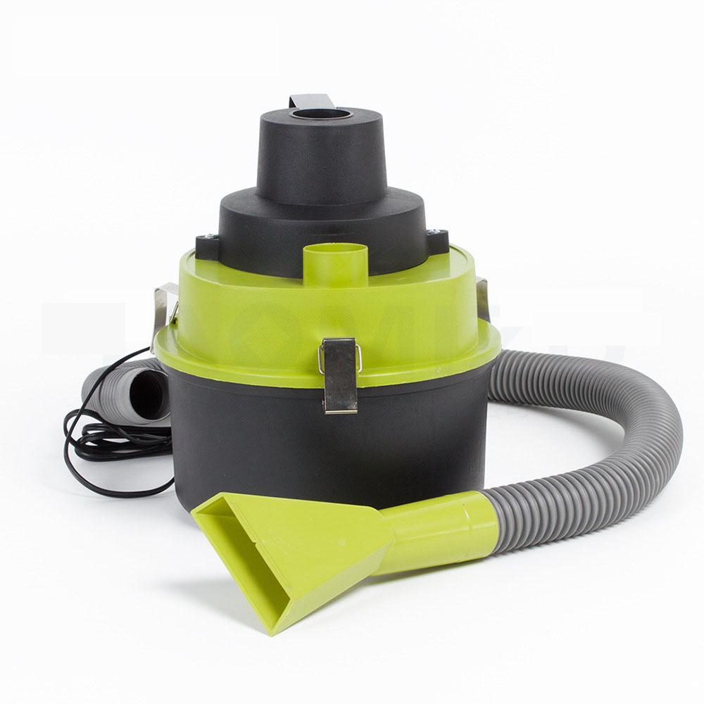 Top efficiency Wet Dry Car Vacuum Cleaner Handheld Mini Auto Car Dust Vacuum Cleaner with Brush/Crevice/Nozzle Head FreeShipping(China (Mainland))