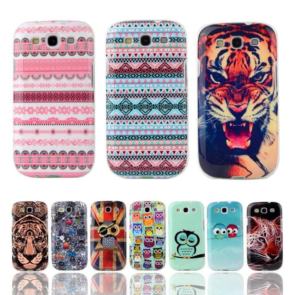 "Fashion Cartoon TPU Silicone Soft Case For Samsung Galaxy S3 i9300 Duos i9300i S3 Neo i9301 i9305 4.8"" Cover Mobile Phone Bag(China (Mainland))"