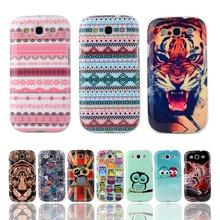 Fashion Cartoon TPU Silicone Soft Case Samsung Galaxy S3 i9300 Duos i9300i Neo i9301 i9305 4.8 inch Cover Mobile Phone Bag - YTD TECHNOLOGY CO., LTD. store